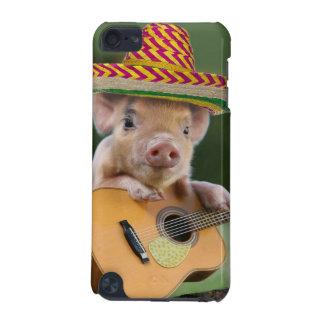 Mexicaans varken - varkensgitaar - grappig varken iPod touch 5G hoesje