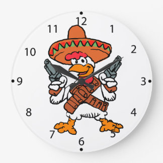 Mexicaanse haan grote klok