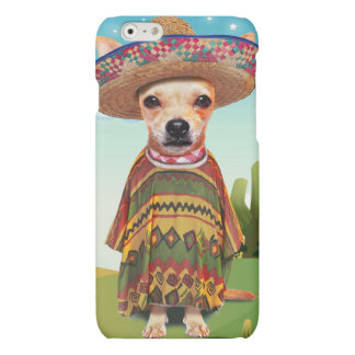 Mexicaanse hond, chihuahua matte iPhone 6 hoesje