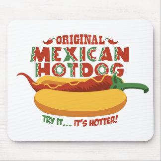 Mexicaanse Hotdog Muis Mat