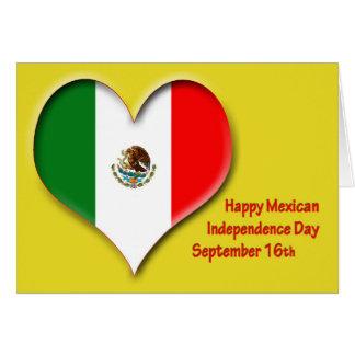 Mexicaanse Onafhankelijkheid Dag 16 September Kaart