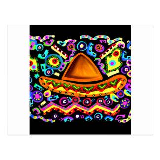 Mexicaanse Sombrero Briefkaart