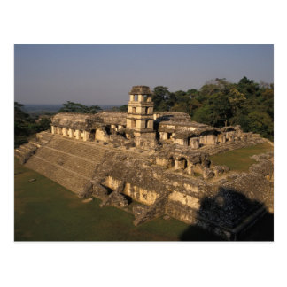Mexico, Chiapas provincie, Palenque, het Paleis Briefkaart