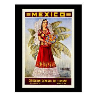 Mexico Tehuantepec Briefkaart