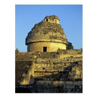 Mexico, Yucatan. Caracol: astronomisch Briefkaart
