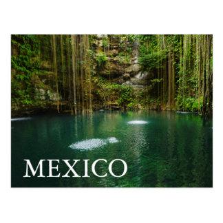 Mexico, Yucatan, Schilderachtig Meer Briefkaart