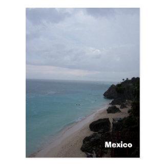 mexicobeach, Mexico, Mexico Briefkaart