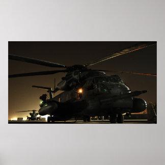 MH-53 bedek Laag Poster