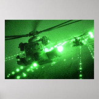 MH-53 bedek Laagste punten Poster