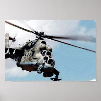 Mi-24 achterste poster
