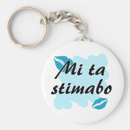 Mi Tastimabo - Papiamento I liefde u Sleutel Hanger