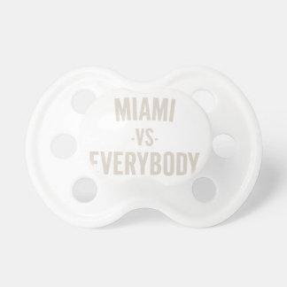 Miami versus iedereen speen