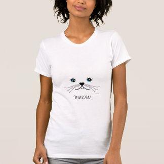 MIAUW, de Leuke Vrouw van het Gezicht van de Kat T Shirt