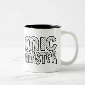 Mic Meester Tweekleurige Koffiemok