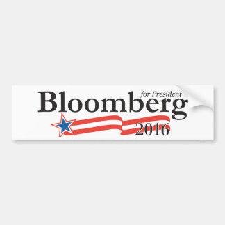 Michael Bloomberg voor President 2016 Bumpersticker