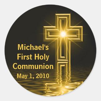 Michael de Eerste Stickers van de Heilige Communie
