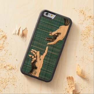 michelangelo van het renaissancepop-art kersen iPhone 6 bumper case