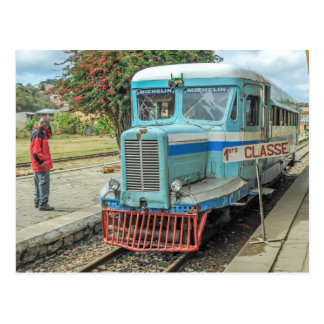 Michelin Railbus MZ 516 - Madagascar Briefkaart