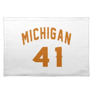 Michigan 41 Design van de Verjaardag Placemat