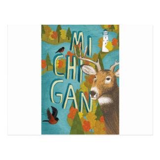 Michigan Briefkaart