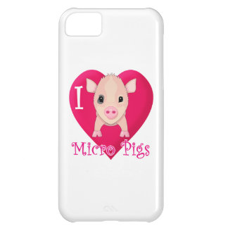 Micro- van de liefde Varkens iPhone 5C Hoesje
