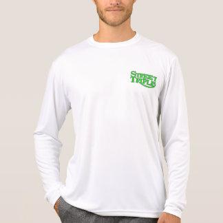 Micro-vezel de Drievoudige T-shirt van de Straat