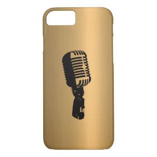 Microfoon op het Effect van het Koper van het iPhone 8/7 Hoesje