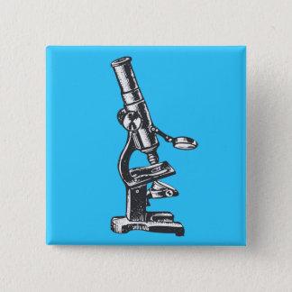 Microscoop Vierkante Button 5,1 Cm