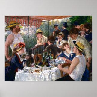 Middagmaal van de Partij van het Roeien door Poster