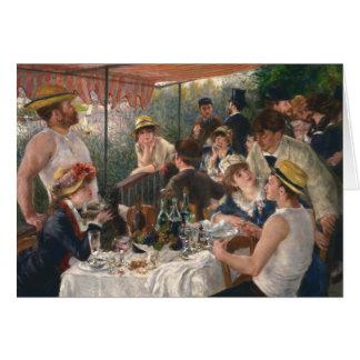 Middagmaal van de Wijnoogst van de Partij van het Briefkaarten 0