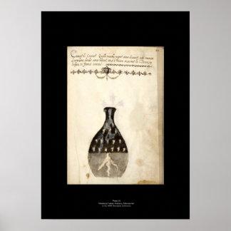 Middeleeuws Italiaans Bord 10 van het Poster van