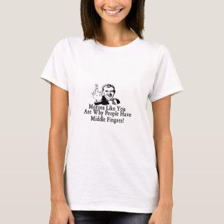 Middelvinger T Shirt