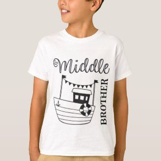 Middle Brother T Shirt