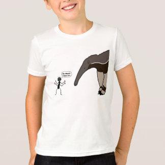 Mier versus het Overhemd van de Miereneter T Shirt