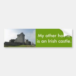 Mijn Ander Huis is een Iers Kasteel Bumpersticker
