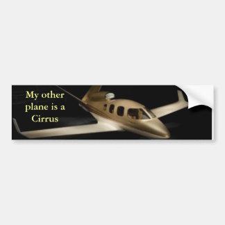 Mijn ander vliegtuig is een Cirrus Bumperstickers