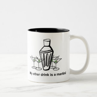 Mijn andere drank is een martini - mok