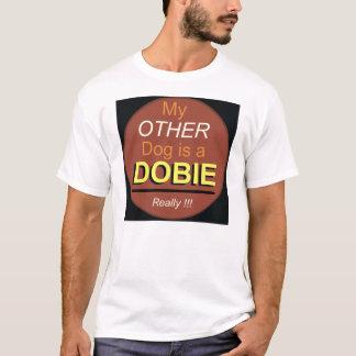 Mijn Andere Hond is een Dobie T Shirt
