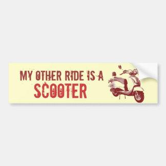 Mijn andere rit is een AUTOPED Bumpersticker