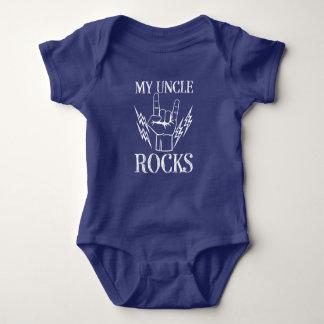 Mijn baby van het de neefoverhemd van Oom Rocks Romper