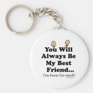 Mijn Beste Vriend Sleutel Hangers