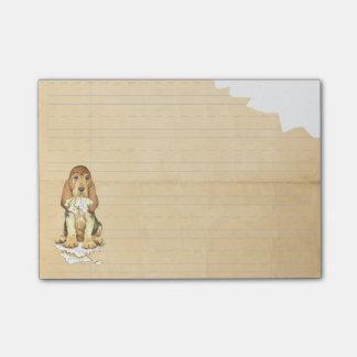 Mijn Bloedhond at Mijn Thuiswerk Post-it® Notes