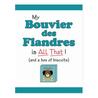Mijn Bouvier des Flandres is dat alles! Briefkaart