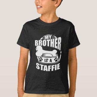 Mijn Broer is een Staffie T Shirt