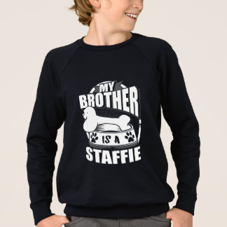 Mijn Broer is een Staffie Trui