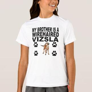 Mijn Broer is een Wirehaired Vizsla T Shirt