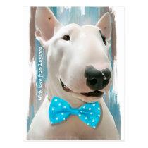 Mijn Bull terrier Briefkaart