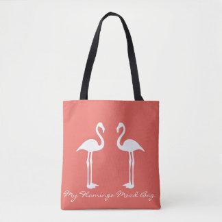 Mijn Canvas tas van de Stemming van de Flamingo
