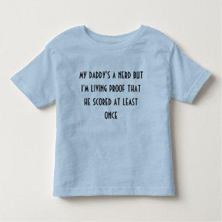 mijn daddys een nerdoverhemd t-shirt
