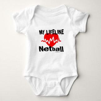 Mijn Design van de Sporten van het Netball van de Romper